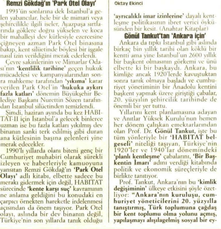 Park Otel Olayı - Remzi Gökdağ