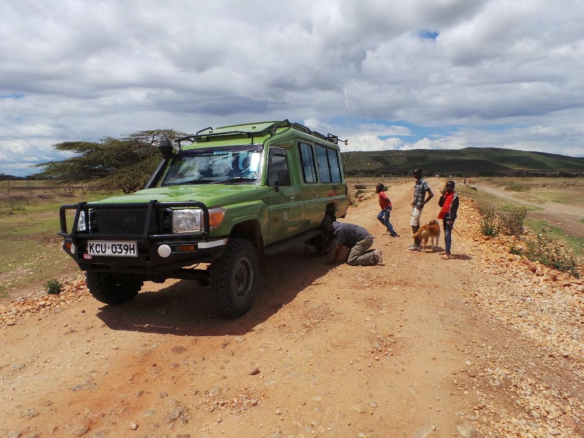 Masai Mara'da ilk gün