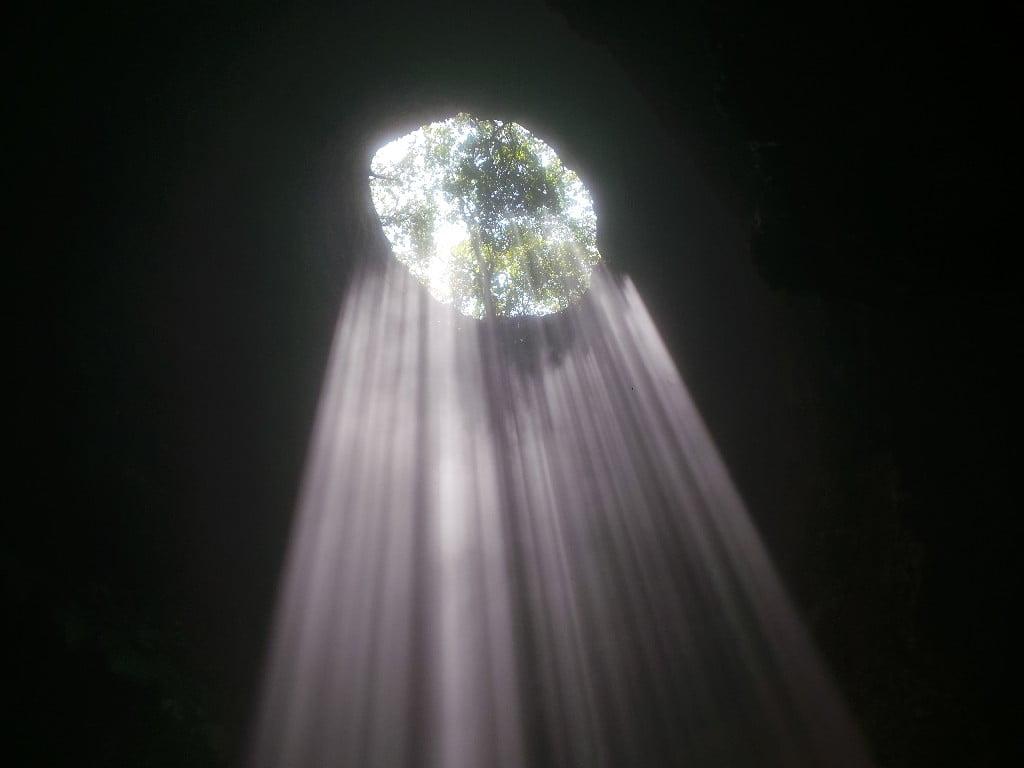 Mağaranın sonunda mucize var!