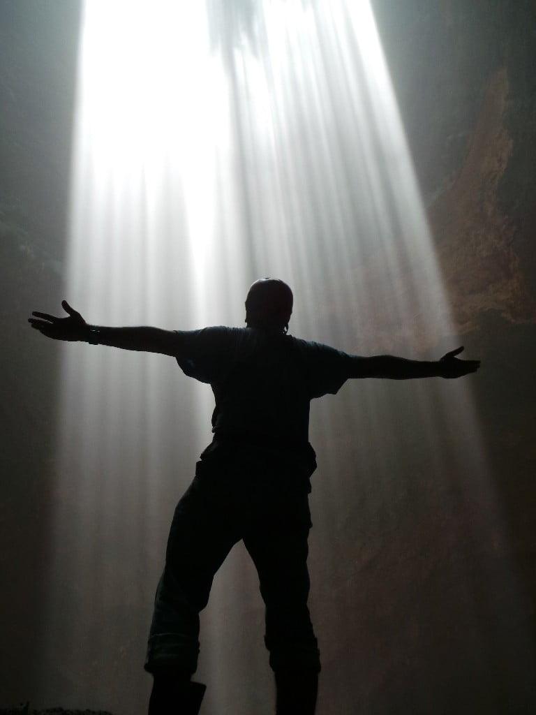 Cennetin ışıkları mı?