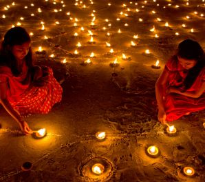 Aydınlığın zaferi Diwali